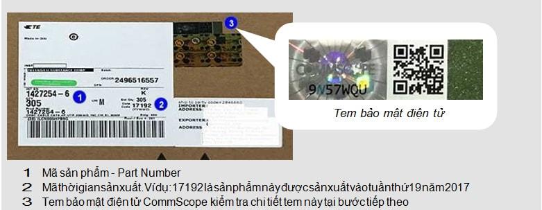 Kiểm tra cáp mạng Commscope AMP chính hãng Online nhanh nhất 1