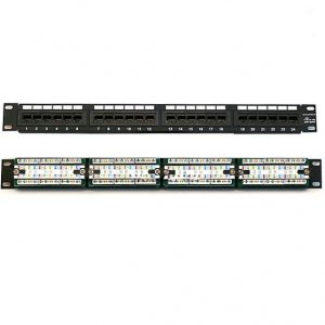 Patch panel 24 port Commscope AMP Cat5e