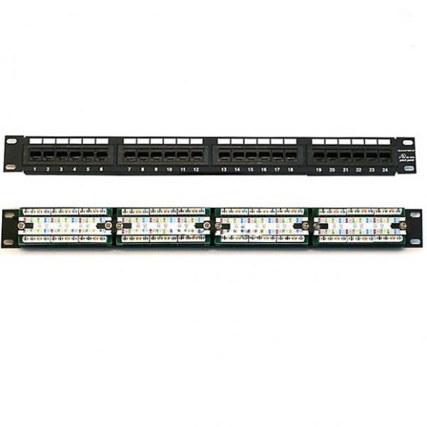 Patch panel 24 port Commscope AMP Cat6