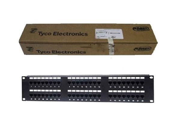 Patch panel 48 port Commscope AMP Cat6